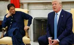 Imran Khan talks with Donald Trump