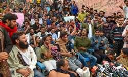 JNU students protest