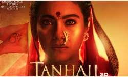 Tanhaji: The Unsung Warrior Poster: Ajay Devgn shares Kajol's impressive look as Savitribai Malusare