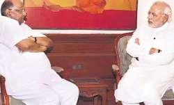 Sharad Pawar- PM Modi meet
