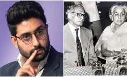 Abhishek Bachchan remembers grandfather Harivansh Rai Bachchan on his 112th birth anniversary, share