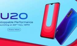 vivo, vivo india, vivo u20, india launch, price, specifications