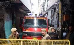 Delhi fire incident