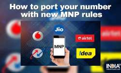 How to port mobile number?