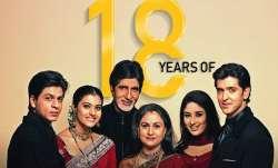 Karan Johar recalls Kabhi Khushi Kabhie Gham as the film clocks 18 years