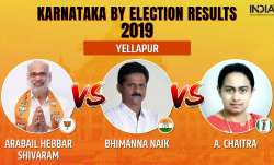 Karnataka Legislative Assembly by-elections 2019 Yellapur results counting of votes
