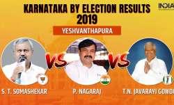 Karnataka Legislative Assembly by-election 2019 Yeshvanthapura results counting of votes