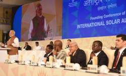 India calls for speedier expansion of International Solar