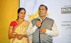 A file photo of Nirbhaya's parents
