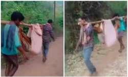 Andhra, ambulance, stretcher,