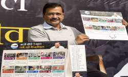 'Kejriwal ka guarantee card' a 'jumla' and lie, allege BJP and Congress