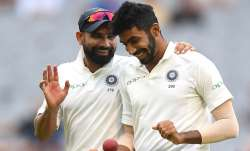 Mohammed Shami and Jasprit Bumrah
