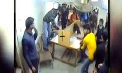 Jamia library violence video, Jamia Millia Islamia, Jamia video