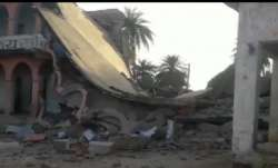 school building, Bihar, blown up, Naxals