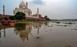 Taj Mahal, Agra, Uttar Pradesh, Trump visit
