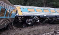 Train derails in Australia
