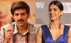 As Kartik Aaryan enjoys Pati Patni Aur Woh with parents, Kriti Sanon calls him 'devdas.' Know why