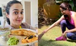 Here's how Preity Zinta, Shilpa Shetty are making the best use of quarantine by cooking and cleaning