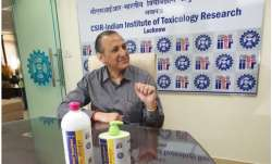CSIR-Indian Institute of Toxicology Research makes 850 litres of santiser in 2 days
