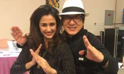 Disha Patani wishes Kung Fu Yoga co-star Jackie Chan on birthday with the cutest photo