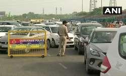 Delhi-Gurugram border sees heavy traffic jam as Haryana govt seals border