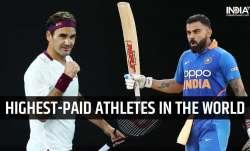 roger federer, virat kohli, forbes list, forbes highest paid athletes, highest paid athlete,highest-