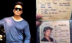 Fan finds Sonu Sood's photo of old train pass from 20 years ago