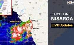 Cyclone Nisarga LIVE Updates mumbai High Alert, Mumbai Cyclone Nisarga, Thane Cyclone Nisarga, Daman