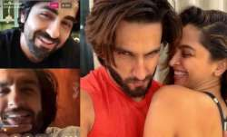 Deepika scolds Ranveer for talking loudly during live chat with Ayushmann Khurrana