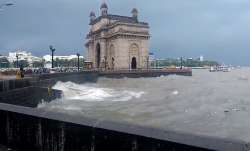 Mumbai rains, rainfall, heavy rains, IMD, rainbow, Gateway of India