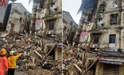 mumbai building collapse, building collapse mumbai, CST area mumbai, CST building collapse, fort bui