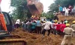 2 killed, 19 houses damaged by landslide in Mangaluru