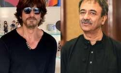 Actor Shah Rukh Khan and filmmaker Rajkumar Hirani