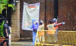 amitabh bachchan house jalsa containment zone