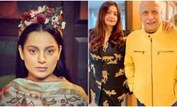 Kangana Ranaut questions Pooja Bhatt on Mahesh Bhatt's involvement in Sushant and Rhea's relationshi