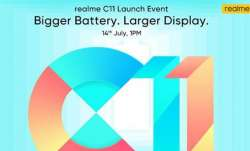 realme, realme smartphones, realme c11, realme c11 launch in india, realme c11 launch in india today