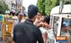 Video: MP cop slaps Vikas Dubey post arrest