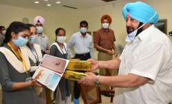 Punjab govt distributes free smartphones to class 12 students