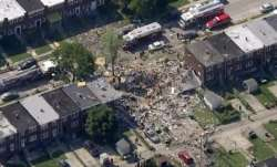 Major blast tears through Baltimore neighborhood; 1 dead, several Injured