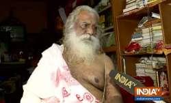 Mahant Nritya Gopal Das, Chief of Ram Janmabhoomi Trust,