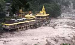 Iconic Kirateshwar temple in Sikkim threatened by floodwaters