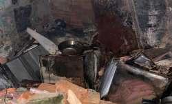 Delhi: Fire breaks out due to LPG blast in Tigri area