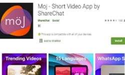 sharechat, moj by sharechat, tiktok, tiktok alternative sharechat moj, moj short video sharing app,