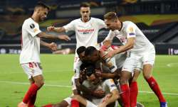 Europa League: Lucas Ocampos heads Sevilla past Wolves into semifinals