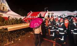 Rescue operation underway after an Air India Express flight with passengers on board en route from D