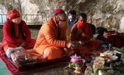 Amarnath Yatra 2020 concludes after final pooja by Mahant Deependra on Shravan Purnima