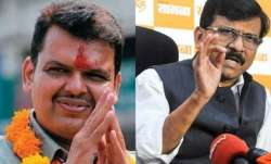 Sanjay Raut ji wanted to take my interview for Saamana, says Former CM Fadnavis