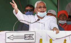 Bihar Chief Minister Nitish Kumar makes fun of Tejashwi