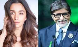 Alia Bhatt is India's most attractive celebrity while Big B becomes the most respected, says survey