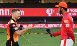 Live Cricket Score Kings XI Punjab vs Sunrisers Hyderabad: Warner opts to bowl against KXIP